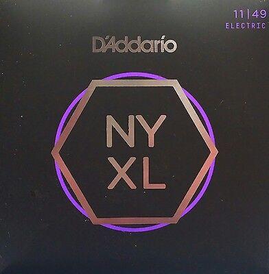 Ships FREE to U.S.! D/'Addario NYXL 1149 NY XL 11-49 Electric Guitar Strings