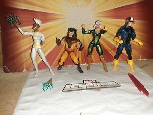 MARVEL LEGENDS X-MEN CUSTOM 4 FIGURE LOT