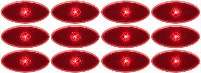 Optronics MCL0028RBB Side Marker Light LED Side Marker Light LED 6 PACK