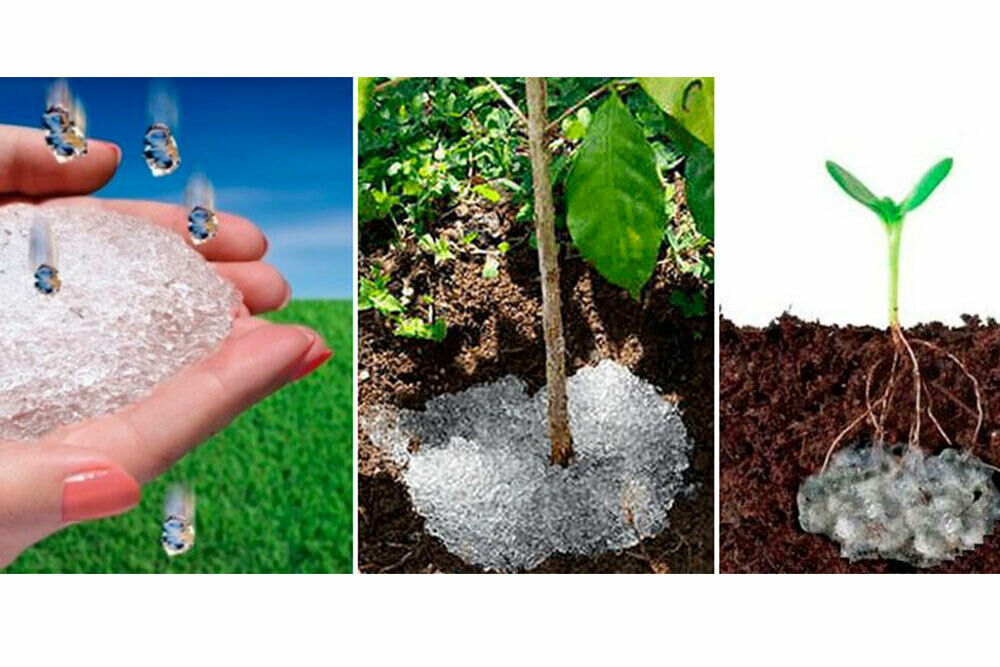 300gr./12 oz. HydroGel Landscaping Save Water/additional soil moisture
