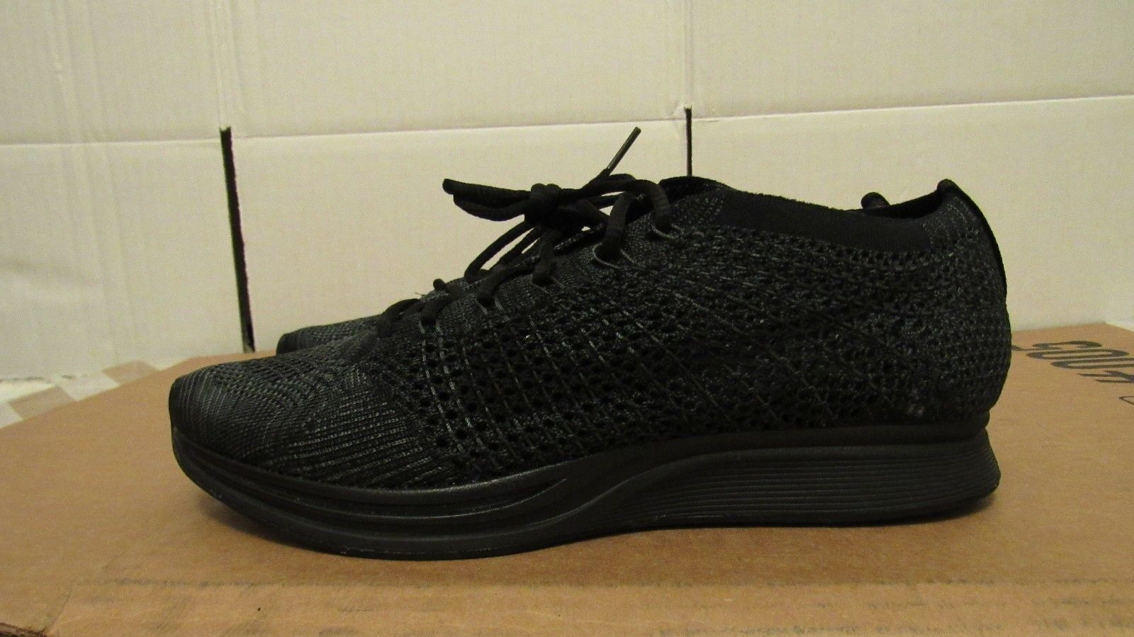 New Nike Flyknit Racers Midnight Running shoes (526628-009) Size 6 6 6 a6dfff
