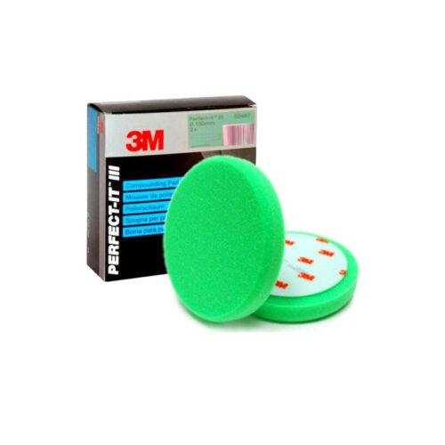 2 X 3M 50487-perfecto que III almohadilla de espuma para complicar más Verde-Paquete de 2-Reino Unido Stock