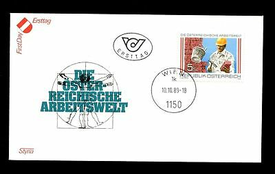 2019 New Style Austria 1989 World Of Work Fdc #c2831 Stamps Europe