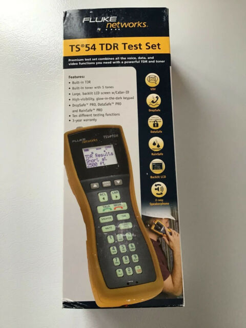 Fluke TS54 PRO TDR Test Set Time Domain Reflectometer