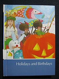 Childcraft-Volume-Nine-Holidays-And-Birthdays-Hardcover-Jan-01-1989-Child