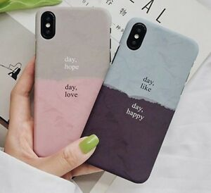 88d164cb9ccde Details about Couples Phone Case For iPhone XS Max X XR 8 7 6 S Plus  Motivational Quote Love