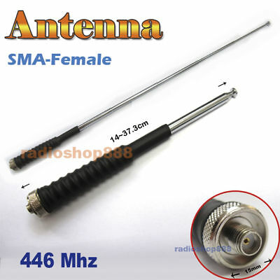 "14.4/"" SMA Female Dual Band Antenna ft PUXING PX-333 PX-666 PX-777 PX-888K PX-999"