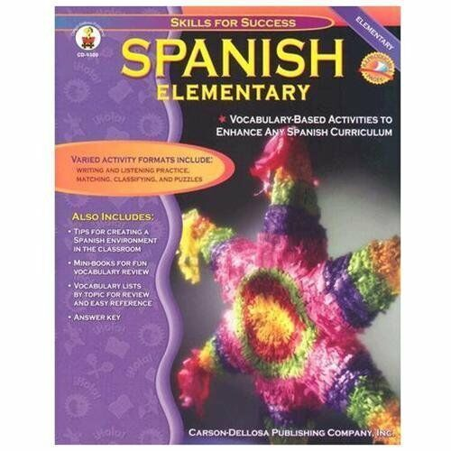 Spanish, Grades K - 5: Elementary (Skills for Success) by Downs, Cynthia
