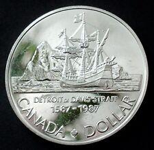 1 Dollar 1987 Kanada / Canada Silbermünze
