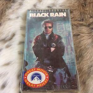 Black Rain VHS Movie Film Tape Ridley Scott Michael Douglas