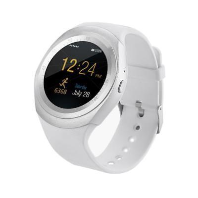 696 Y1 Bluetooth Android Smart Watch Waterproof Pedometer Camera Wrist Watch