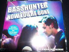 Basshunter Now You're Gone Rare Australian Remixes CD Single - New
