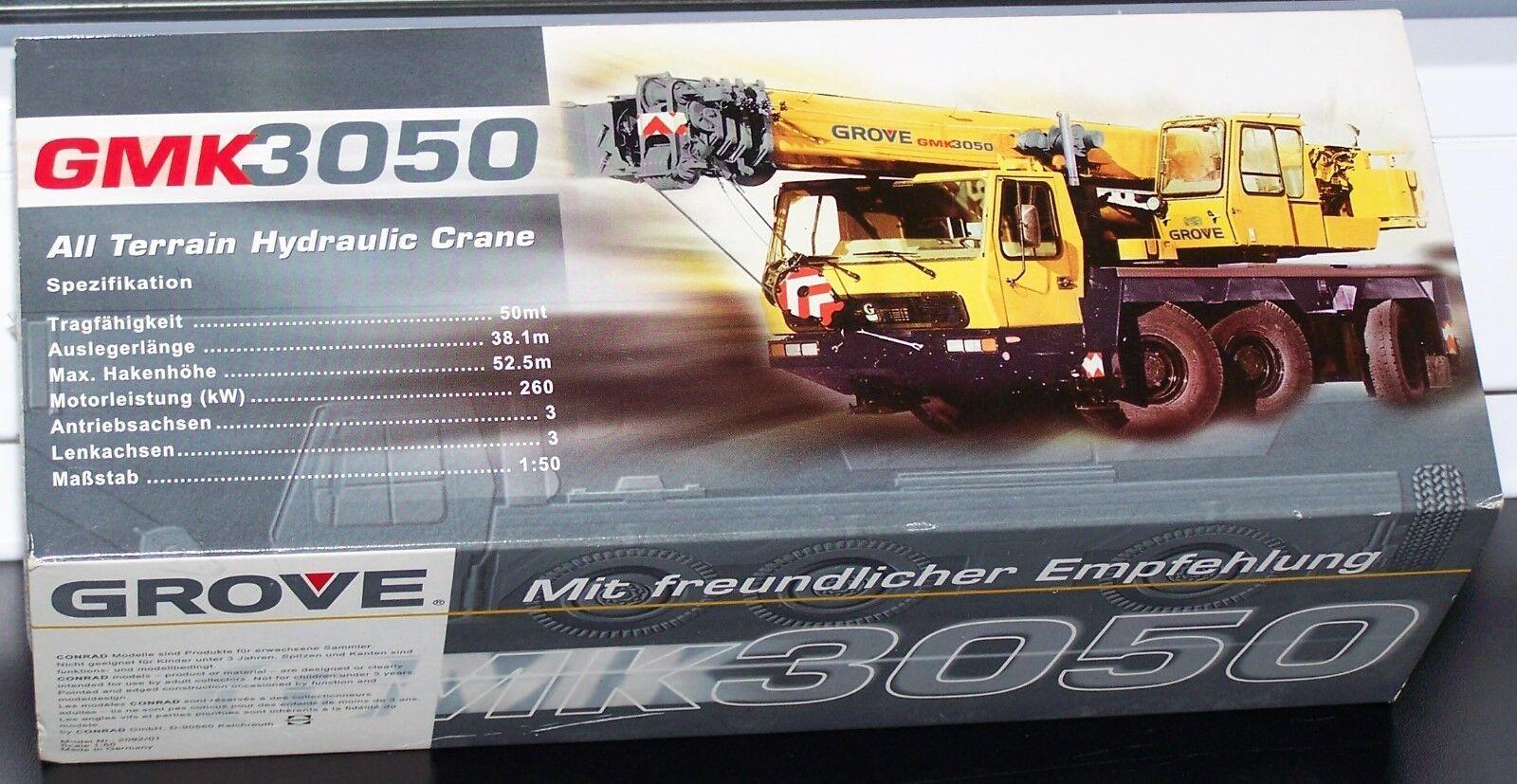 1 50 Autokran  gmk3050-GROVE  neuf dans sa boîte