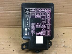 "96 97 98 99 00 Honda CIvic Main Fuse Relay Box Assembly ""A5"" Used OEM 
