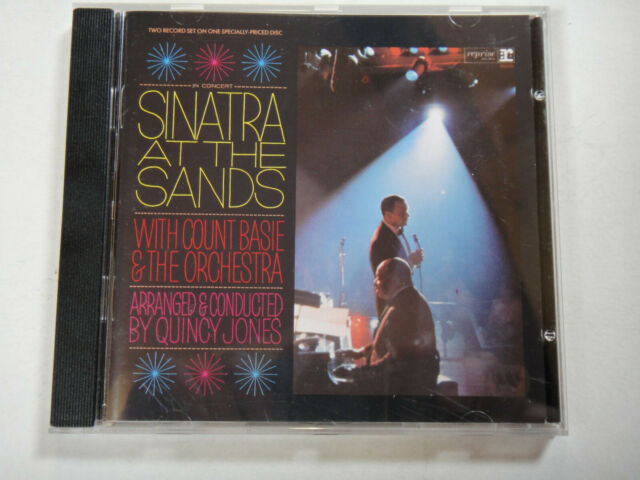 FRANK SINATRA - SINATRA AT THE SANDS with COUNT BASIE & ORCHESTRA   -  JAZZ CD