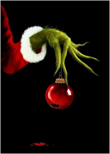 The Grinch Christmas Movie Large Poster or Canvas Art Print Maxi A1 A2 A3 A4