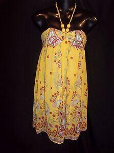 FOREVER-Halter-Dress-SunDress-SUN-Dress-Jr-Womens-Size-SMALL