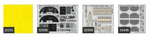 compras online de deportes Eduard 1 32 Avro Avro Avro Lancaster B Modello i Parte i Big-Ed Set  3399  barato y de alta calidad