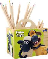 Shaun Das Schaf Stiftebox Holz Ohne Deko Kinder-schreibtisch