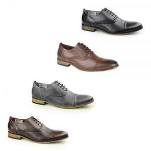 Goor-ISAAC-Mens-Lace-Up-Toe-Cap-Leather-Lined-Smart-Formal-Oxford-Brogue-Shoes