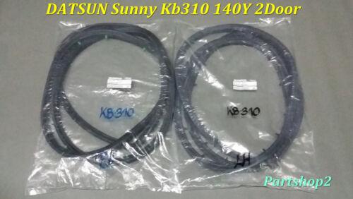 DATSUN SUNNY B310 KB310-311  2 DOOR  MODEL weatherstrip rubber seal New