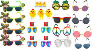 HAWAIIAN-SUMMER-SUNGLASSES-GLASSES-SPECS-TROPICAL-PARTY-FANCY-DRESS-NOVELTY