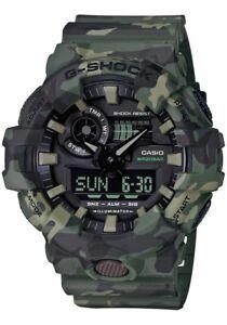 cd5726a1f6b5 La foto se está cargando Casio-G-shock-GA700CM-3A-Nuevo-Camuflaje-Verde-