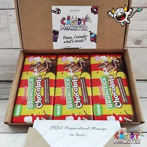 3 x NUOVA Swizzels DRUMSTICK barrette di cioccolato 100g cesto regalo regalo regalo