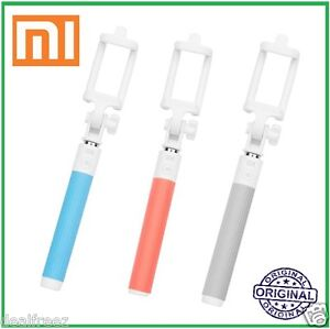 Xiaomi MI Portable Extendable Wireless Bluetooth Selfie Monopod Stick Grey