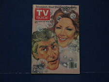 1980 TV Guide, Jan 26- February 1 Television's Most Shocking Capability