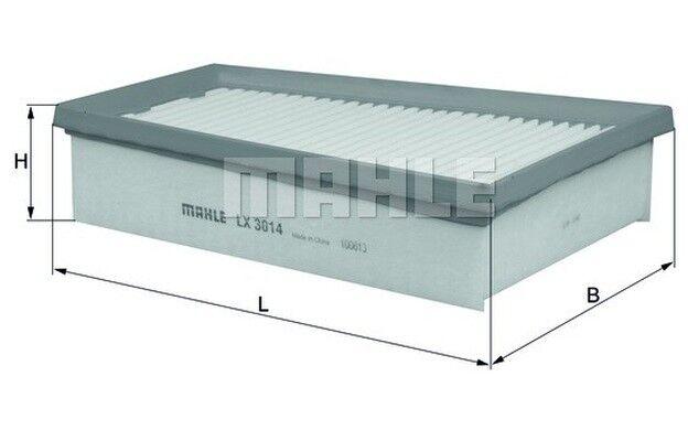 KNECHT Filtro de aire Para RENAULT MEGANE SCENIC BMW 1 DACIA DOKKER LX 3014