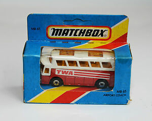 Matchbox-MB-65-AIRPORT-COACH-1981-Great-Condition-Vintage-1888