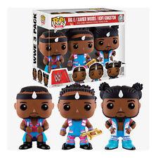 WWE Pop! Vinyl Figures The New Day Big E, Xavier Woods & Kofi Kingston 3 Pack