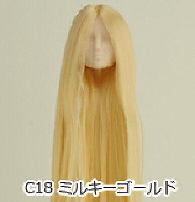 Obitsu Doll 27cm hair implantation head for natural body R BRN 27HD-F01NC05