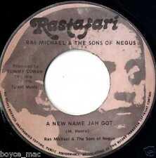 """rastafari 7"""" : RAS MICHAEL & SONS OF NEGUS-a new name jah got  (hear)"""