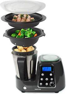 PRIXTON Kitchen Gourmet KG200 Robot Da Cucina Multifunzione Programmabile IN Ino