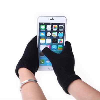 Women/Men Smart Phone Tablet Touch Screen Gloves Candy Full Finger Mittens HOT