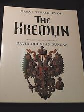 Great Treasures of the Kremlin by David Douglas Duncan 1980 Oversized Paperback