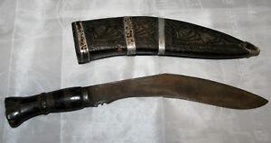 Beau Khukri Ancien du Nepal Himalaya uotV30fU-08050659-109718639