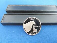 2007-S Idaho Silver Quarter DEEP CAMEO MIRROR PROOF Upper Grading Ranges