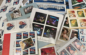 DISCOUNTED-Canada-Postage-Lot-1000-Face-Value-All-46-51-Sticker-Free-Ship