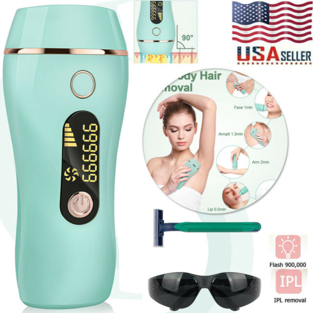 Laser Ipl Permanent Hair Removal Machine Face Skin Body Painless