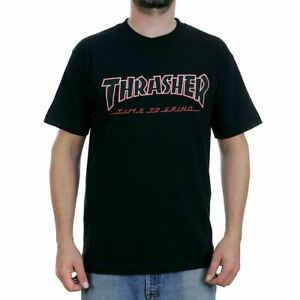 Indy-Trucks-x-Thrasher-Tee-Time-To-Grind-Black-Independent-Skateboard-T-Shirt