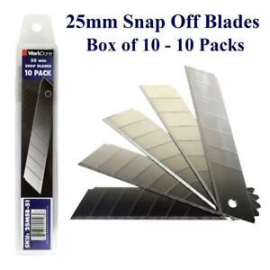 25mm Snap Off Blade 10 Packs - Min 1 Box - Bulk Discounts Canada Preview