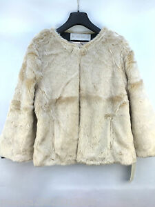 Jacket Women Fur M Zara Coat Taglia qEY8qd7