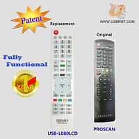 Usb Universal Remote For Model 01 For Proscan Tv - Already Programmed