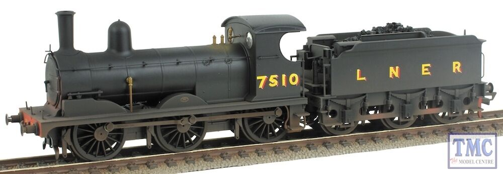 R3380 Hornby OO Gauge LNER 7510 J15 Class Real Coal & TMC Weathered