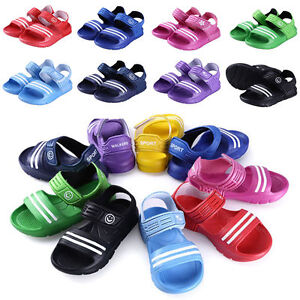 Boys-Girls-Kids-Childrens-Summer-Beach-Casual-Walking-Sports-Sandals-Shoes-Size