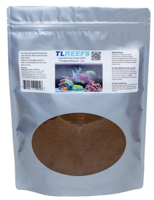 Gfo Granular Ferric Oxide Marine Phosphate Remover Fish & Aquariums Pet Supplies