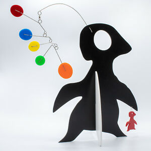 Cute-Penguin-Art-Stabile-by-Atomic-Mobiles-Modern-Abstract-Animal-Sculpture